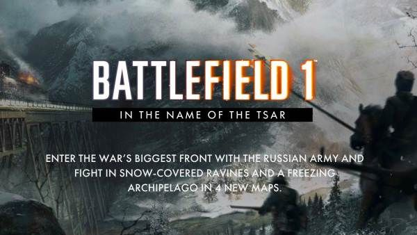 Battlefield 1 In The Name Of The Tsar Out Now On Xbox One Ps4 And