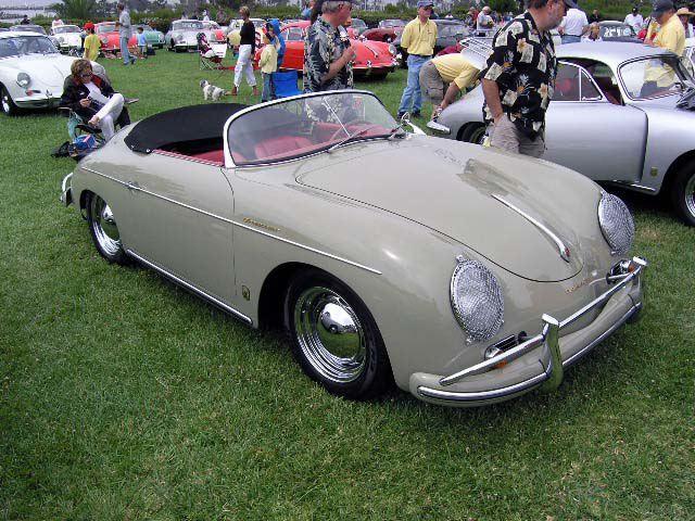 Porsche Speedster in Fashion Grey — Reutter No. 531. I ...