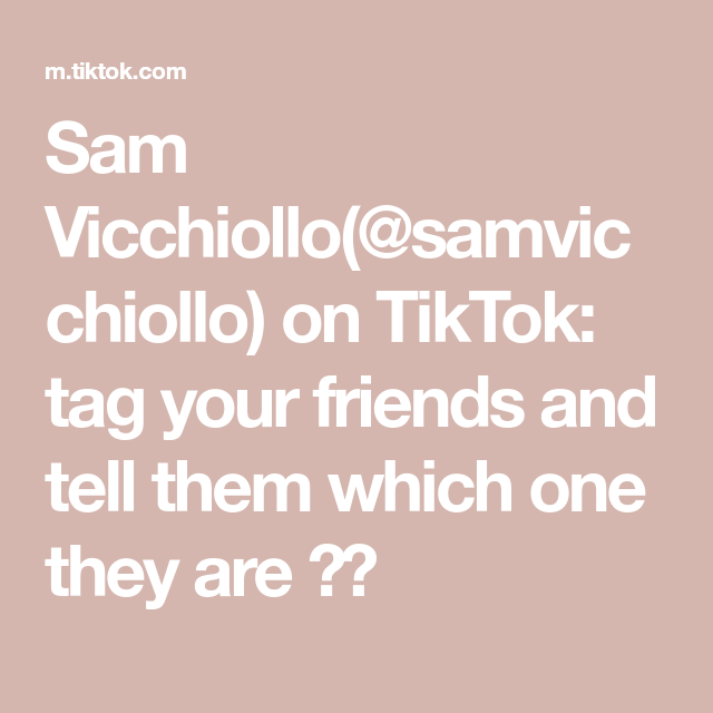 Sam Vicchiollo Samvicchiollo On Tiktok Tag Your Friends And Tell Them Which One They Are Sam Galaxy Vol 2 Guardians Of The Galaxy