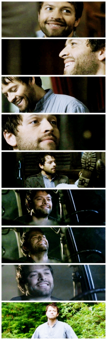 Dean: What are you, stoned? Castiel: Generally, yeah. Dean: Amphetamines? Castiel: It's the perfect antidote to that absinthe.