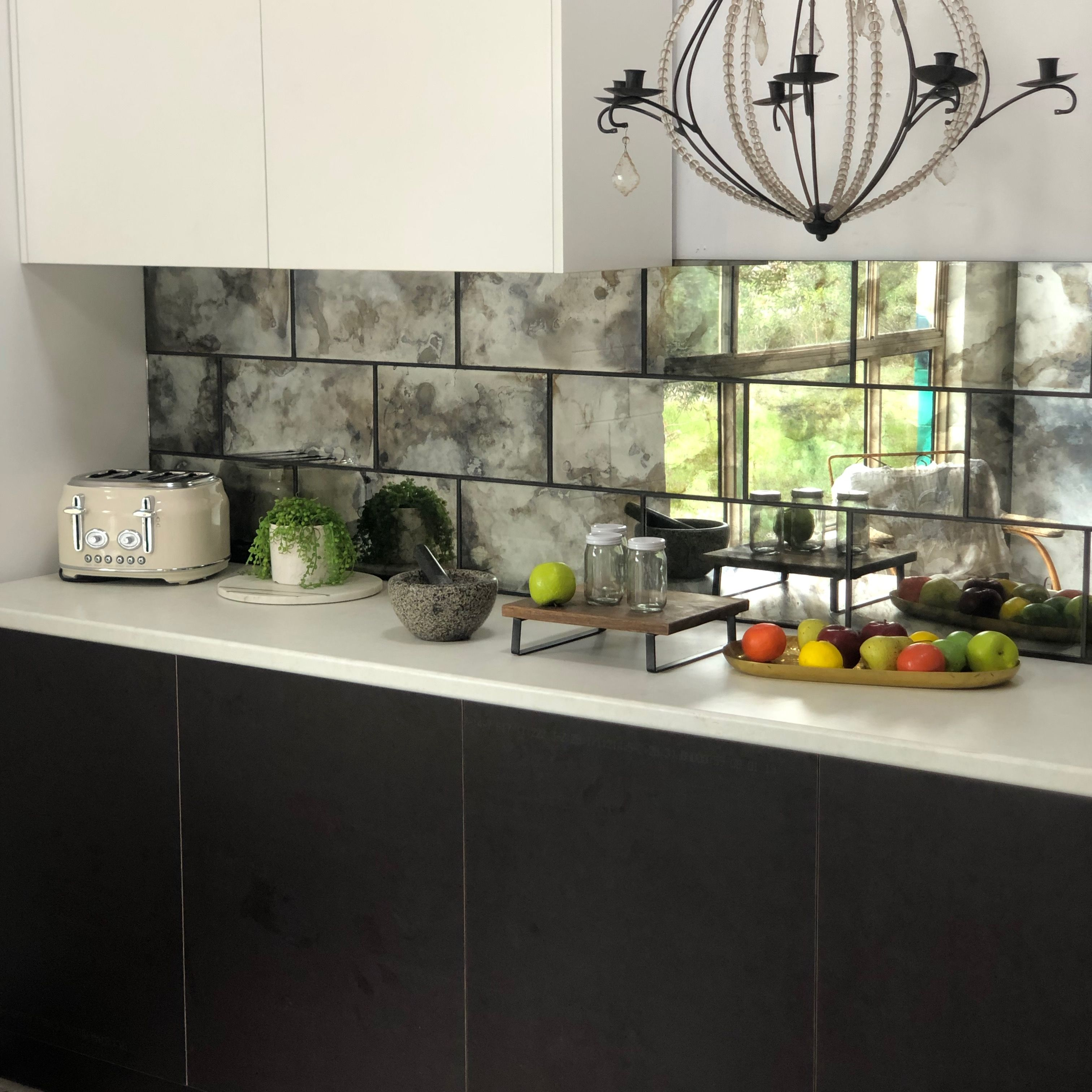 Atelier tiles, new to the Antique mirror glass range. can ...