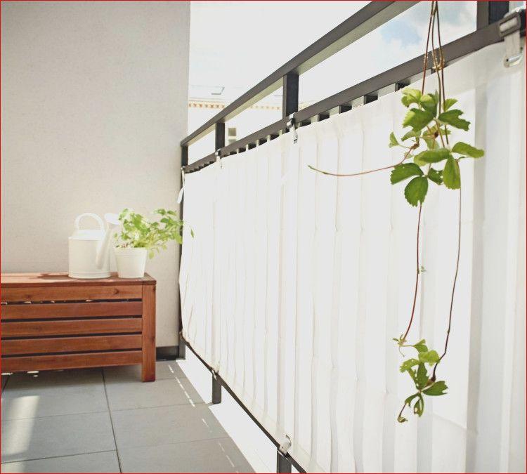 33 tolle Sichtschutz Balkon Weiß Designideen