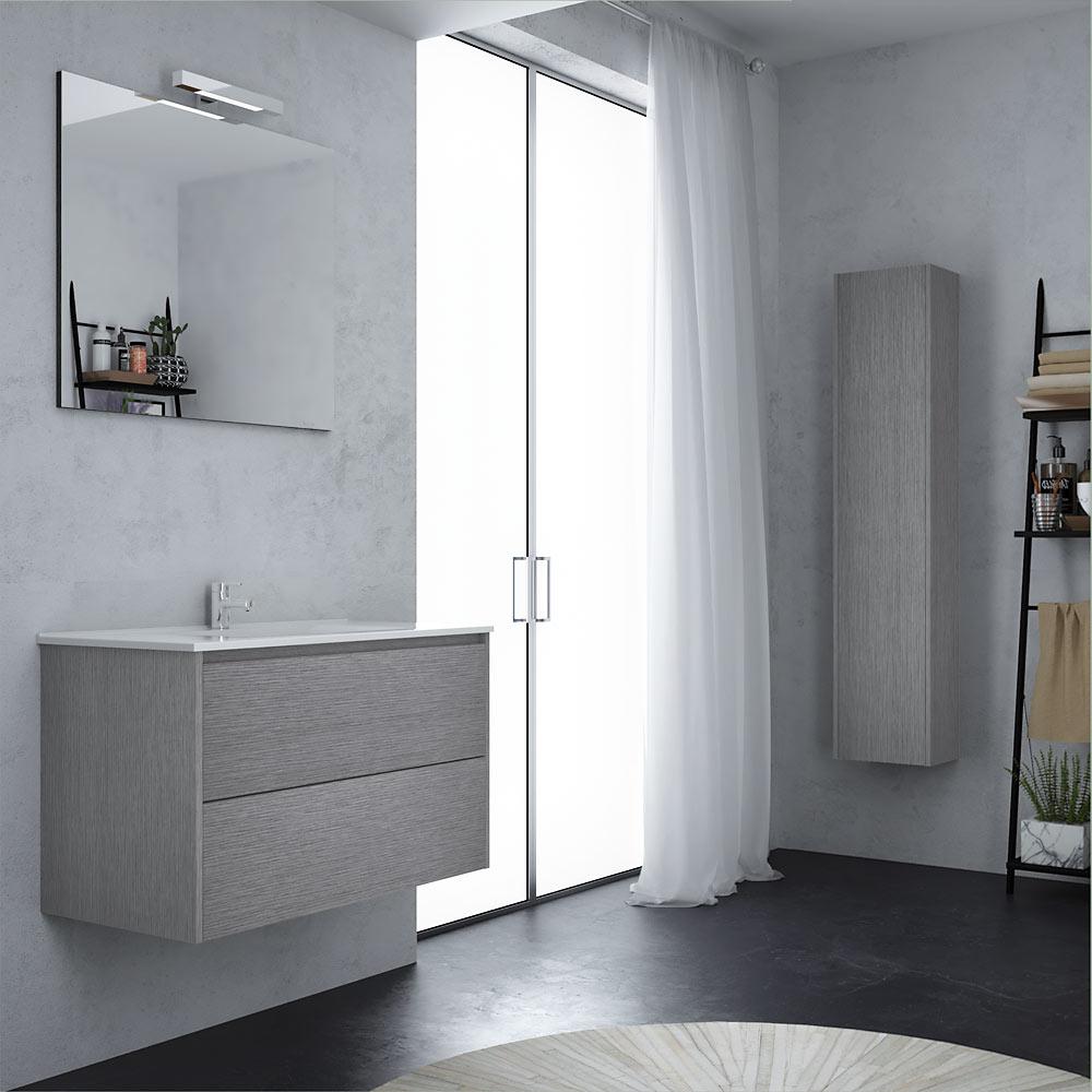 Mobile bagno sospeso con specchio 90 Marano nel 2020