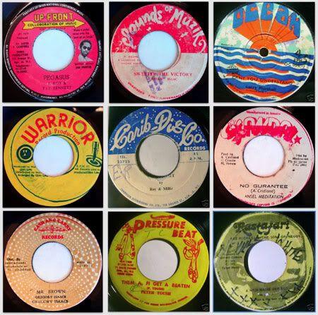 Reggae Surface Noise Vinyl Record Art Music Album Cover Retro Music