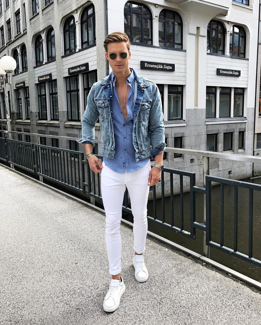 eaa6e95ea Calça branca masculina 1 peça