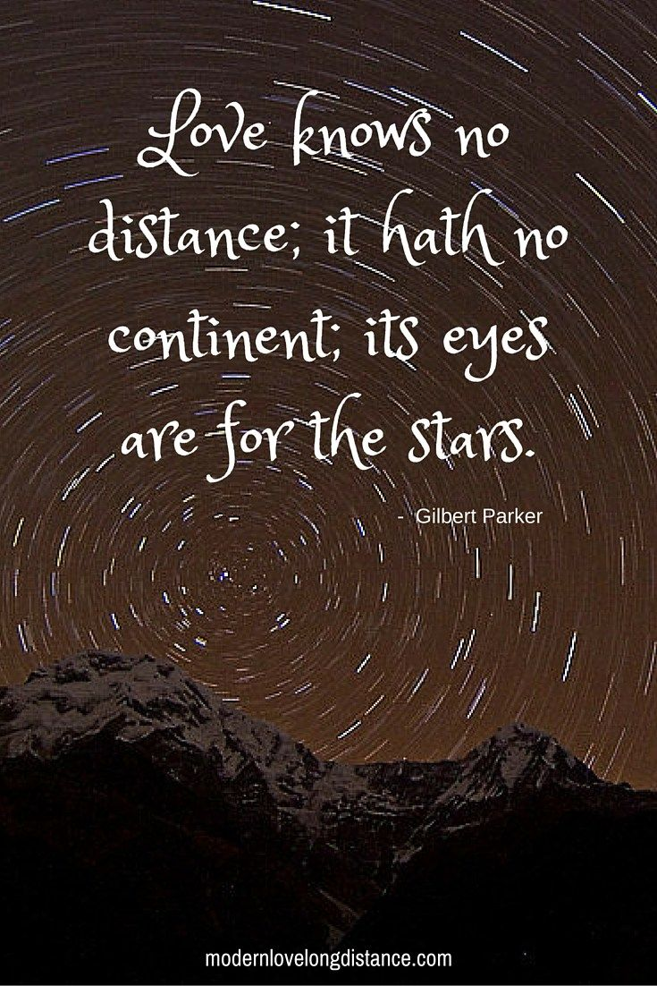 love quotes about trust and distance
