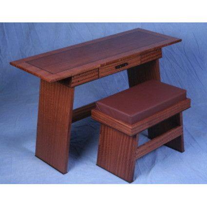 Desk With Bench John Farrar 1875.00