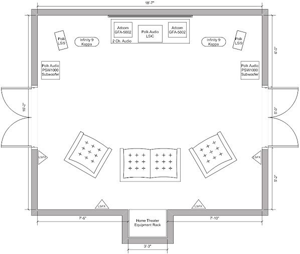 Home Theater Room Floor Plans View Topic Rroobbcc S Listening Room Home Theater Project Home Theater Room Design Floor Plans Modern House
