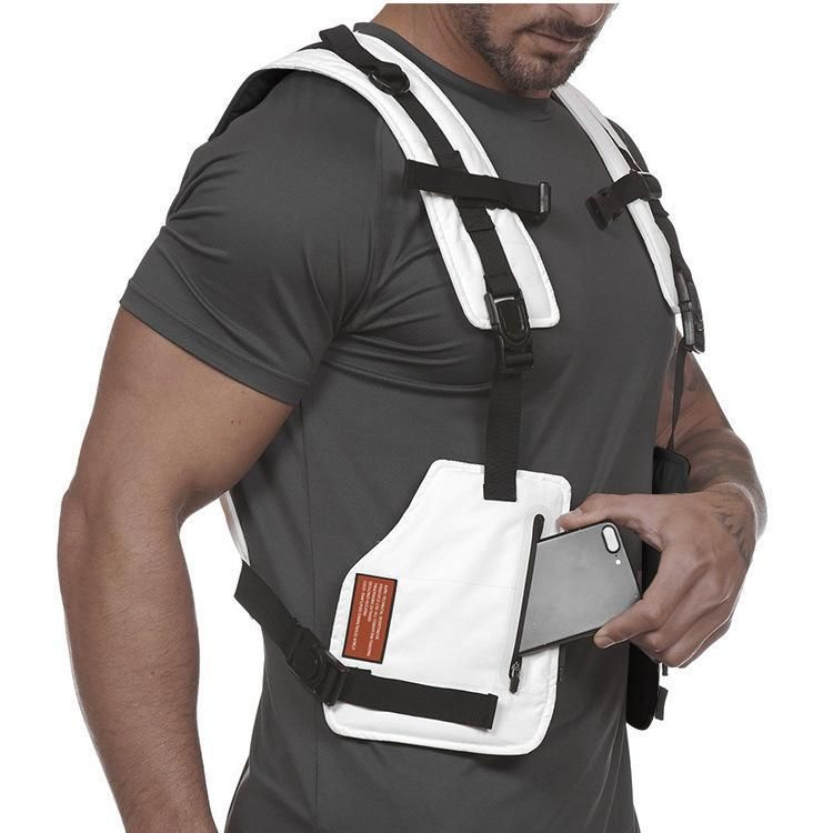 Men S Multifunctional Outdoor Protective Sports Training Vest Mens Fitness Sports Training Mens Sleeveless Shirts
