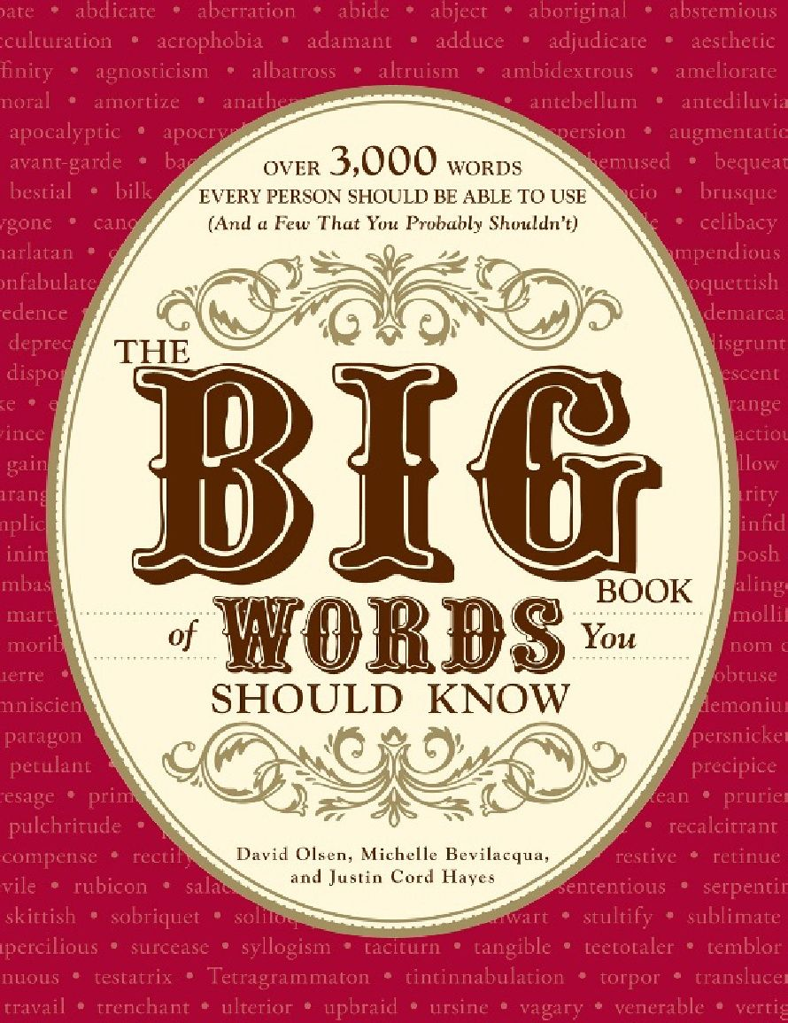 Free Download  The Big Book Of Words You Should Know Over 3,000 Words  Every