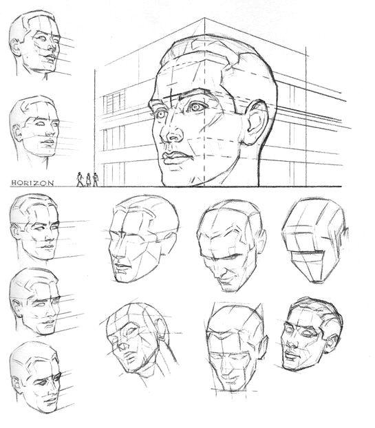 найдите мужскую голову на картинке чтобы был явно