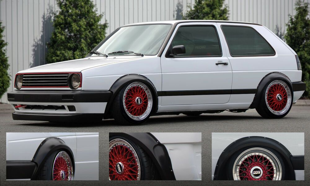 Kotflugelverbreiterung Fur Vw Volkswagen Golf 2 Ii Kotflugel
