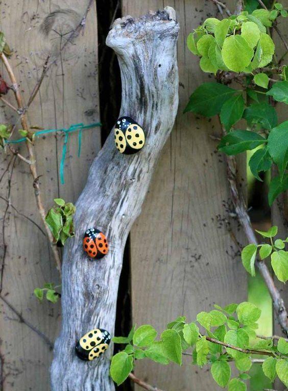 Gartendeko aus stein  50 Ideen für DIY Gartendeko und kreative Gartengestaltung | Diy ...