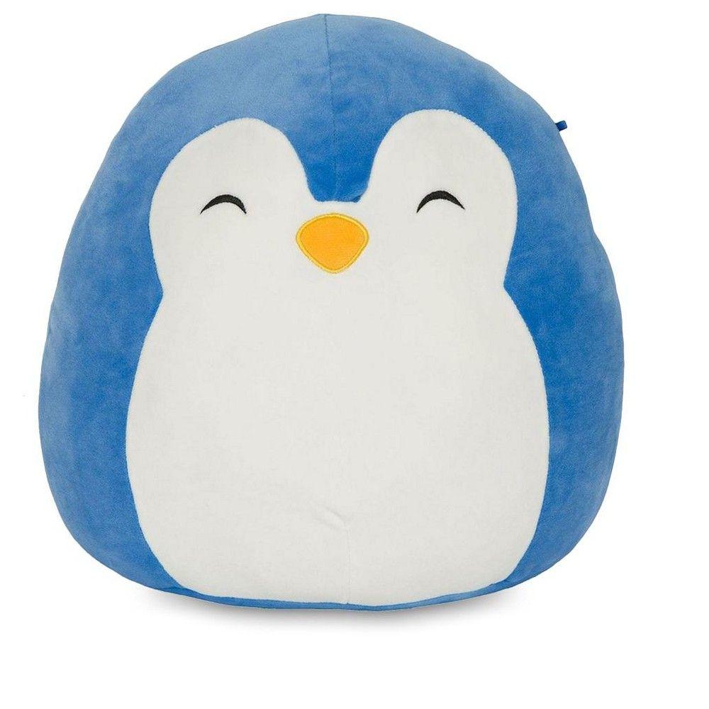 Squishmallows 24 Inch Plush Puff The Blue Penguin Animal Pillows Plush Pillow Pals