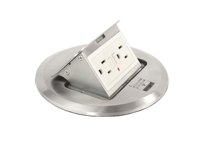 Hideaway Floor Outlets Special Home Features