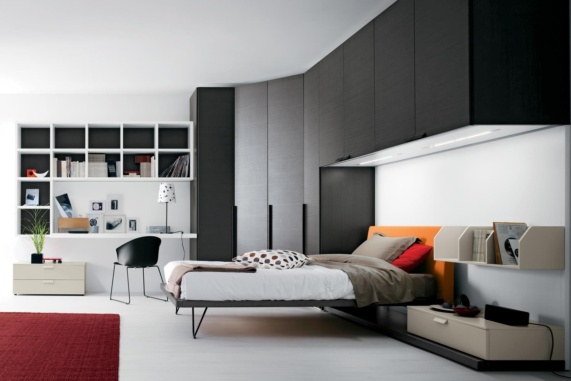 design camera da letto ragazzi divani colorati moderni per il ... - Design Camera Da Letto