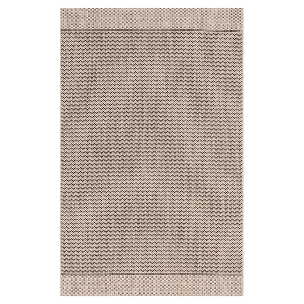 Yucatec Coastal Black Grey Zig Zag Outdoor Rug 7 10x10 9 Outdoor Rugs Patio Indoor Outdoor Area Rugs Outdoor Area Rugs