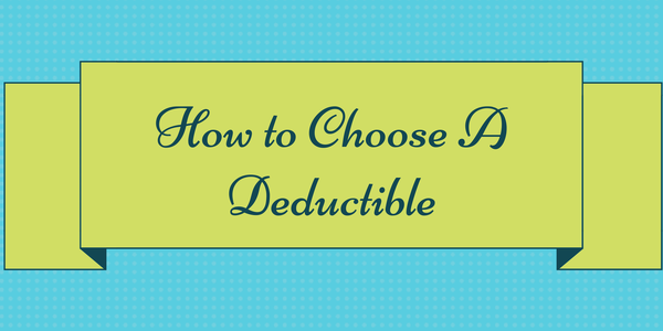 When Quoting Auto Insurance For Clients We Frequently Discuss How To Choose The Right Deductible I Thought I D Insurance Deductible Car Insurance Deduction