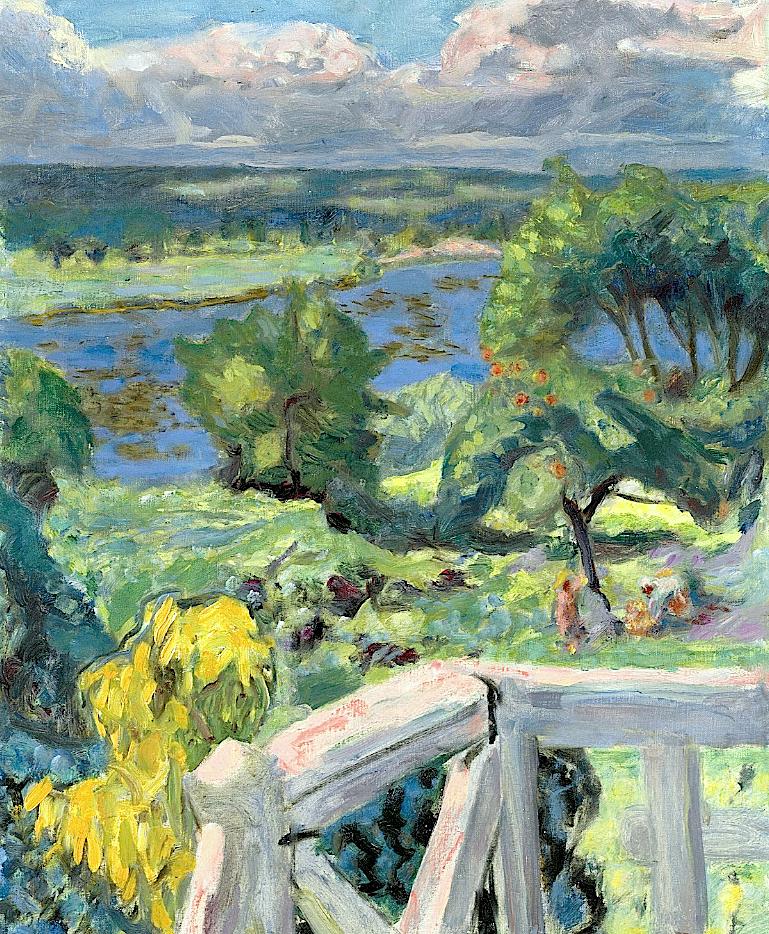 Pierre Bonnard (1867-1947) Coup de soleil (La terrasse de 'Ma roulotte' à Vernonnet)