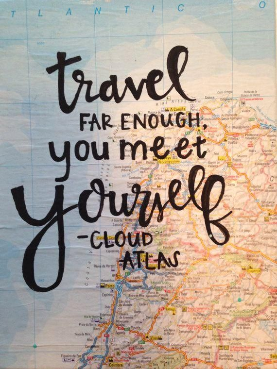 #Quote: #Traveling Travel Quote: Traveling the world and learning about the rest of the world will also teach you about yourself.