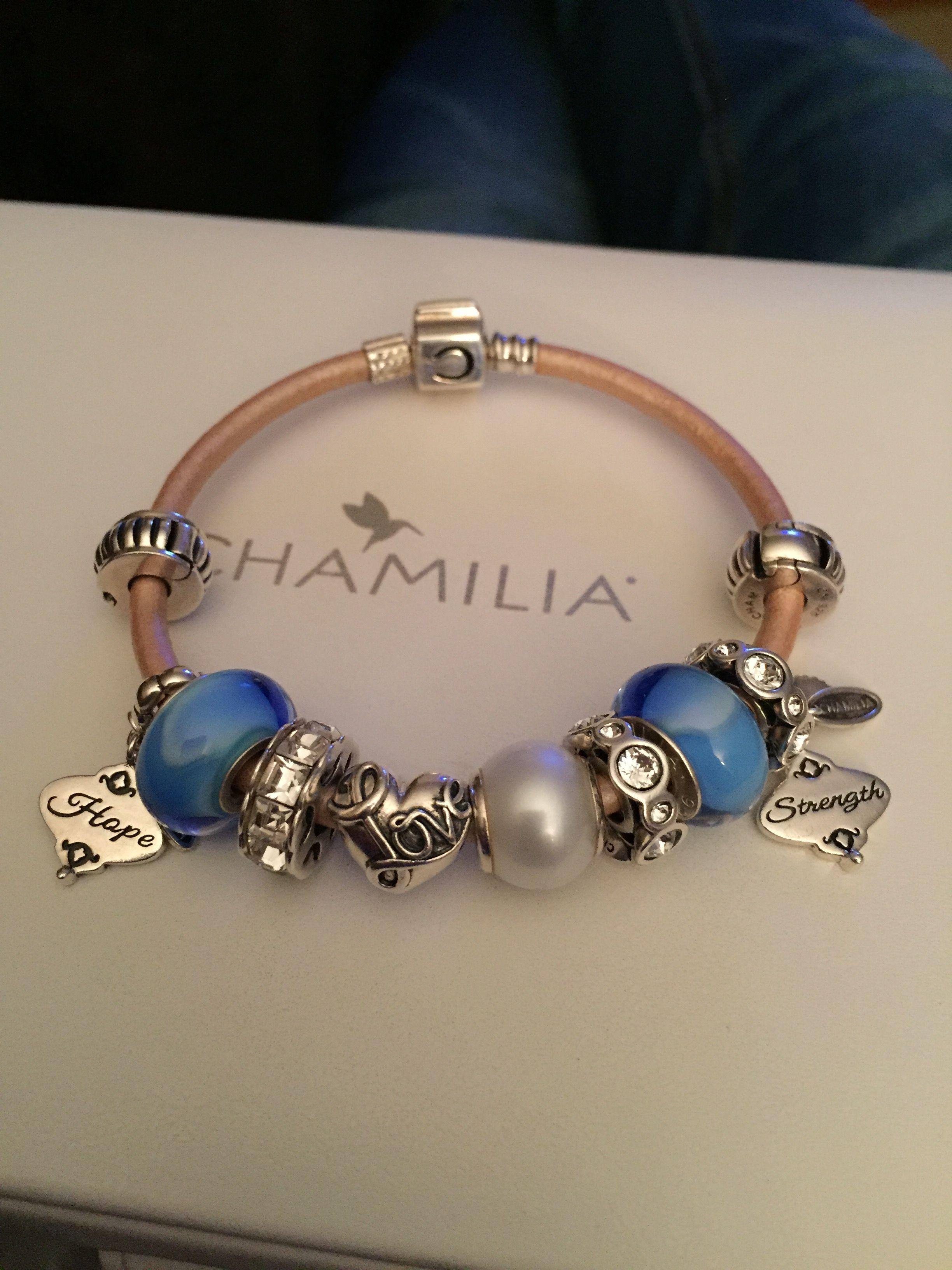 9dfb5b1675852 Chamilia Blue Aurora glass murano 2110-1128   Chamilia   Pandora ...