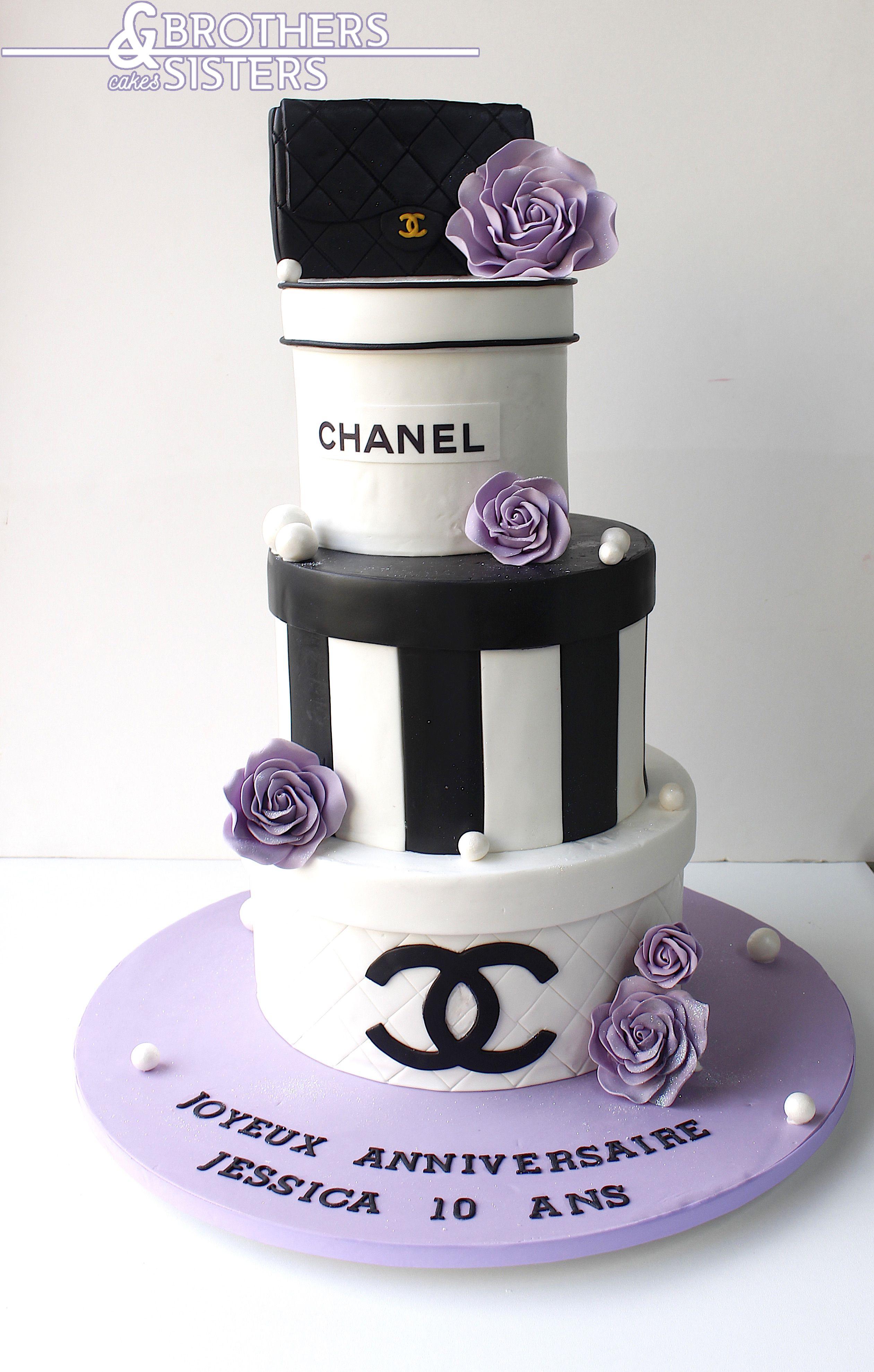 Wedding cake CHANEL Boxes
