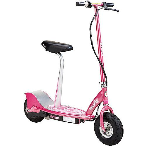 Razor E300s Seated Electric Scooter Multiple Colors