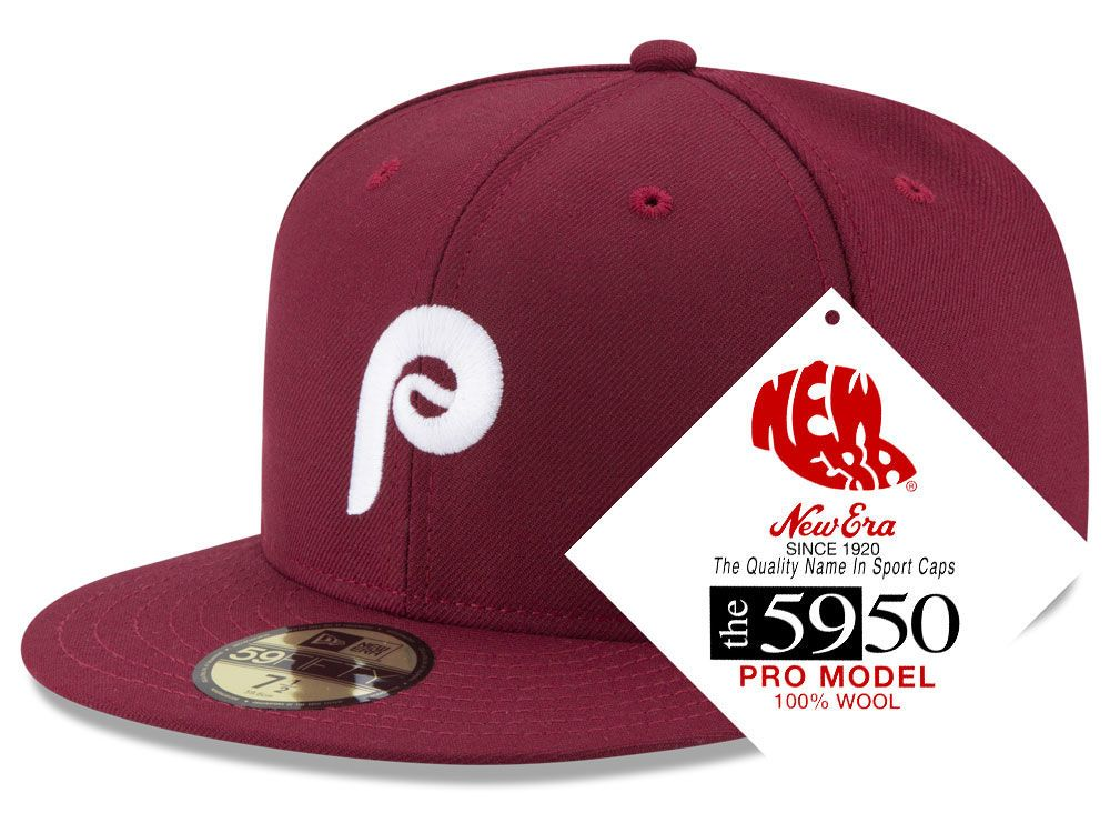 8ae1c9a3 Philadelphia Phillies New Era MLB Retro Classic 59FIFTY Cap in 2019 ...