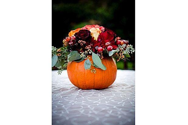 11 Unique Ideas for Thanksgiving Centerpieces Slideshow - bulk halloween decorations