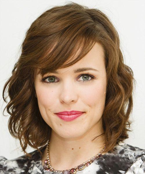Rachel mcadams medium wavy formal hairstyle with side swept bangs hair cuts rachel mcadams urmus Image collections