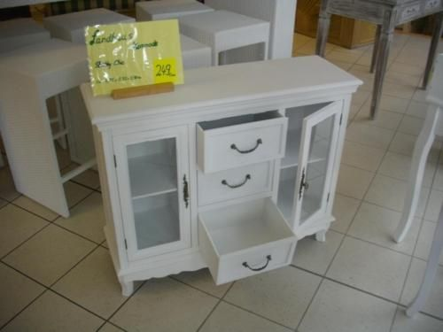Kommode Od Sideboard Im Landhausstil Weiss Antik Shabby Chic Neu In