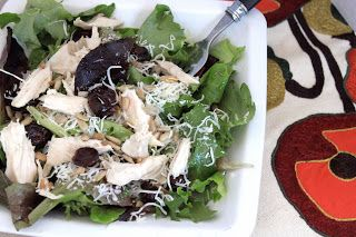 secret recipe club: honey apple chicken salad
