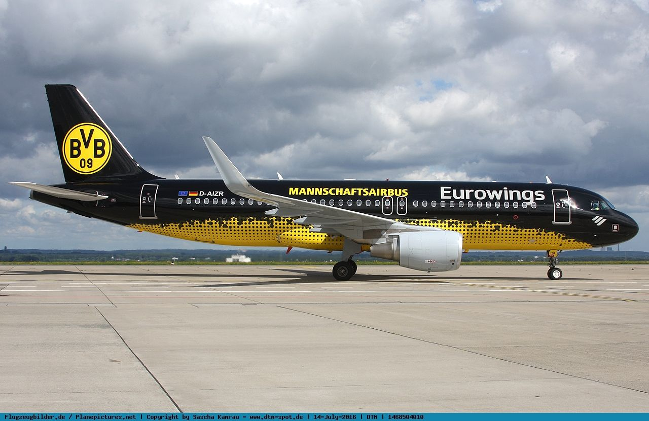 Bvb Flugzeug Eurowings