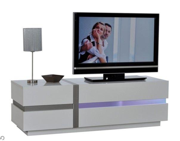 Meuble Tv Led Lumina Blanc Meuble Tv But Tv Hifi Mobel Phonoschrank Wohnzimmer Tv