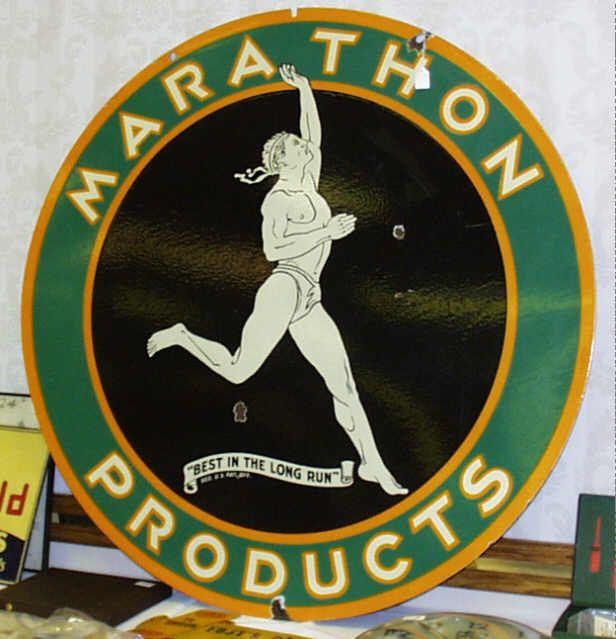 Marathon Oil Signs