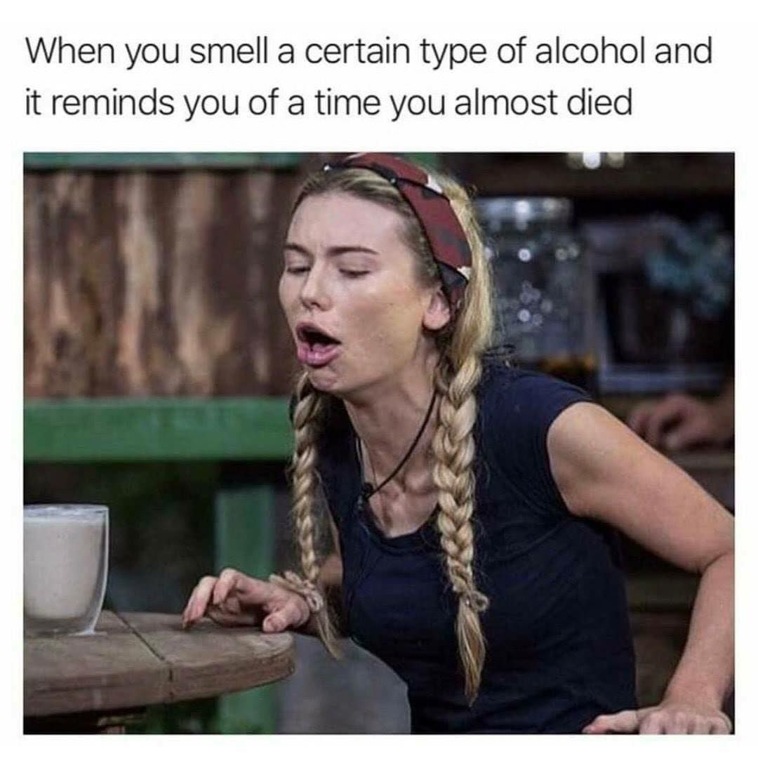 I'm sure you can all relate 🤮 #hangover #memes #drunk