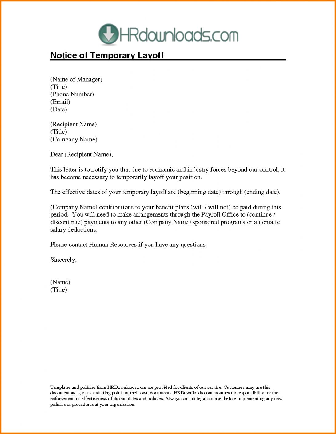 Sample Layoff Letter To Employee from i.pinimg.com