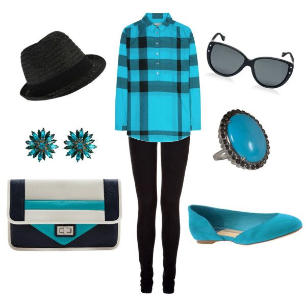 Burberry Brit turquoise tunic