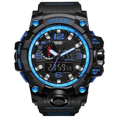 Men Military Watch 50m Waterproof Wristwatch LED Quartz Clock Sport Watch Male relogios masculino 1545 Sport Watch Men S Shock #sportswatches