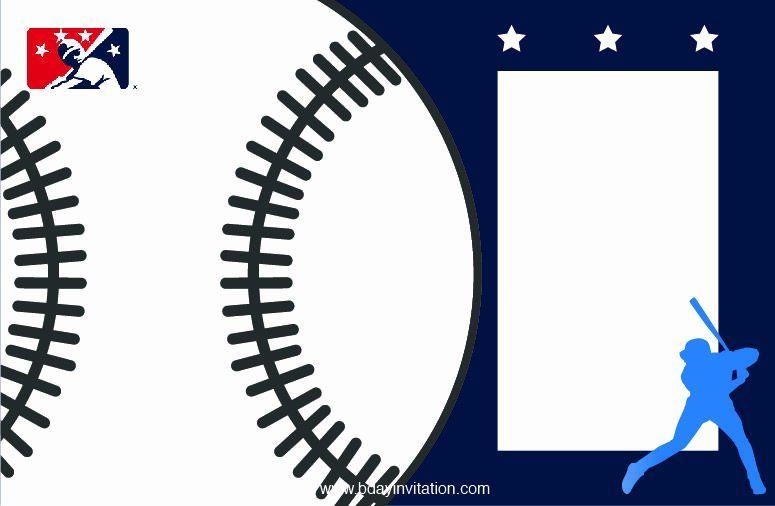 baseball invitation template free