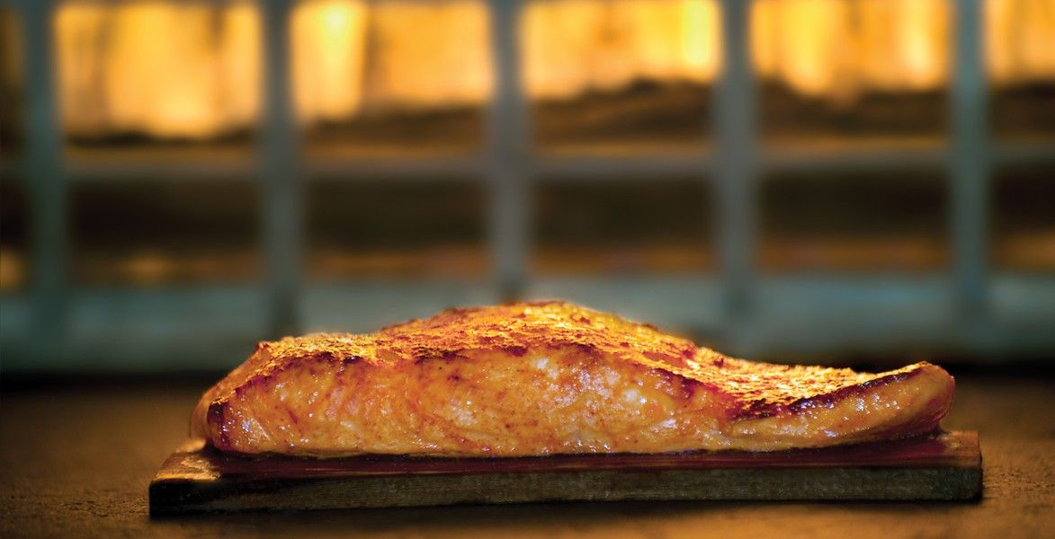 California Pizza Kitchen crusted salmon Food Photos Pinterest