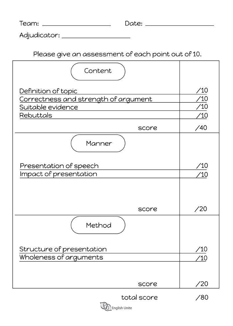 Debate format and planning sheets Debate topics, Debate