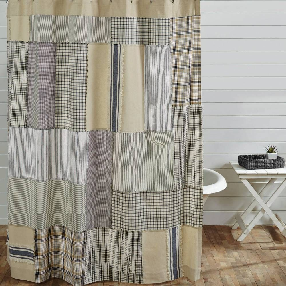 Country Shower Curtains With Images Country Shower Curtain