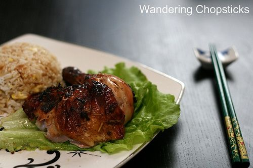 Ga Ro Ti Xa Vietnamese Roasted Lemongrass Chicken 7 Vietnamese