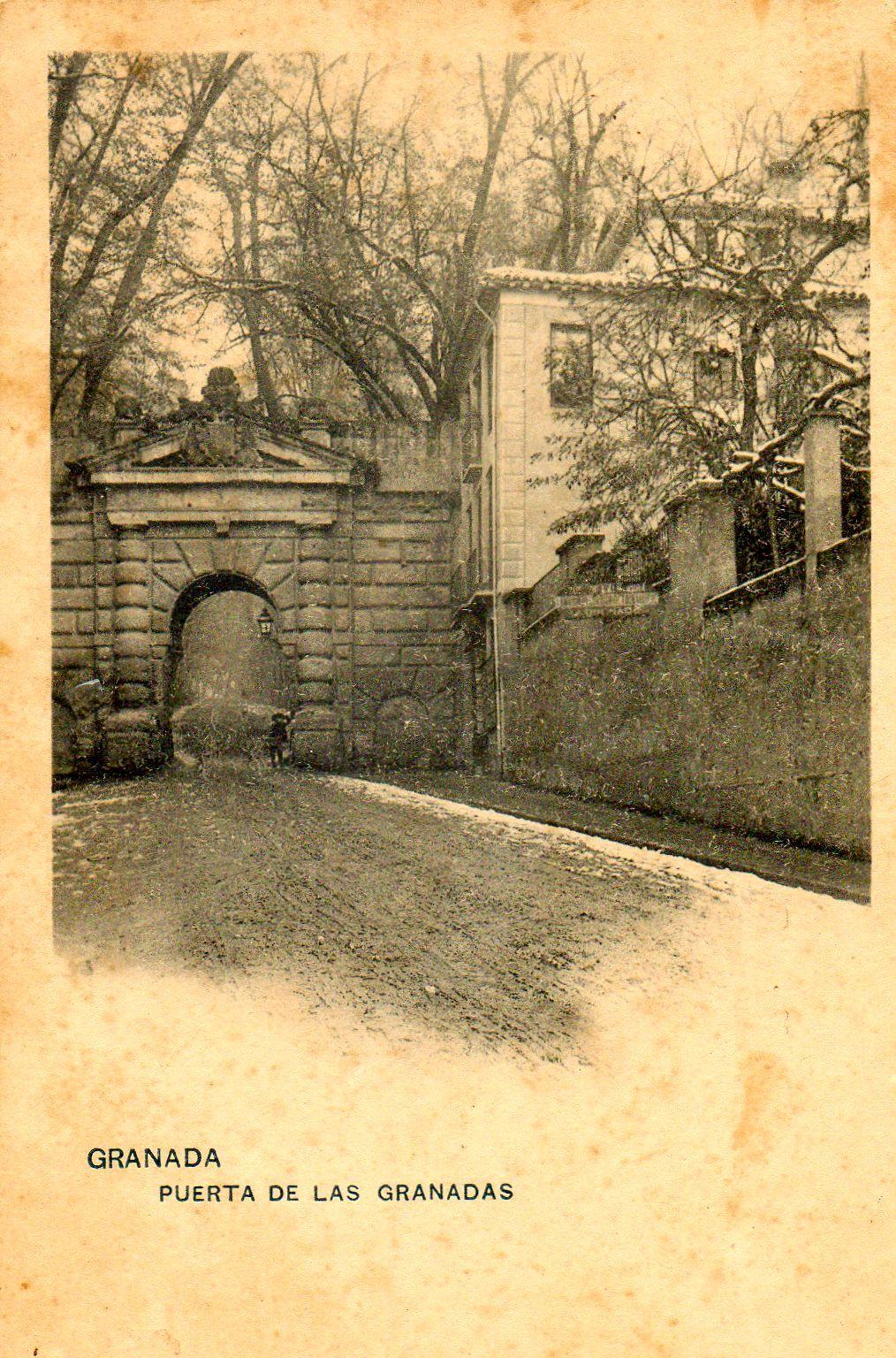 Puerta De Las Granadas Alhambra Slowhomes Granada