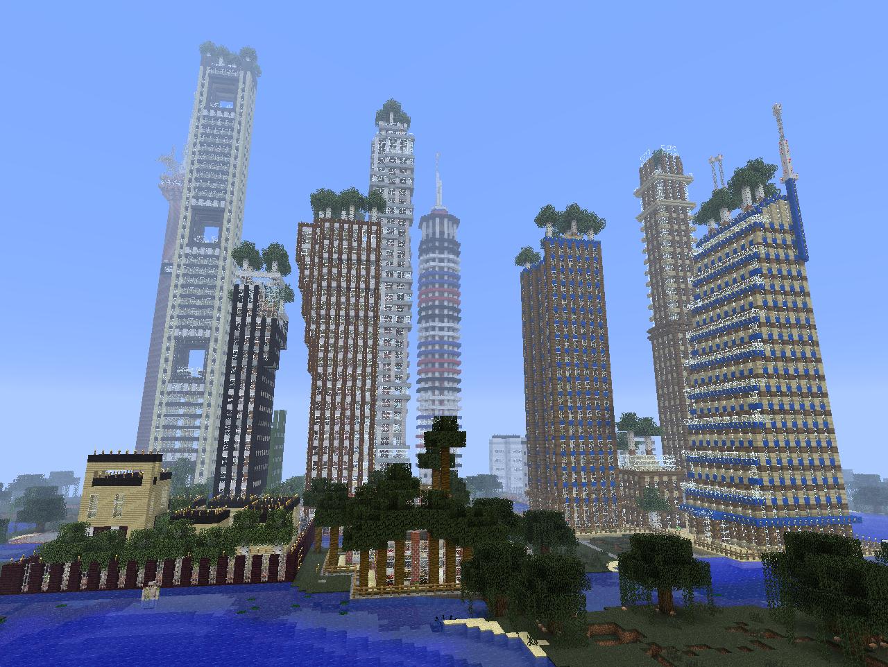 Minecraft SkyscraperCity