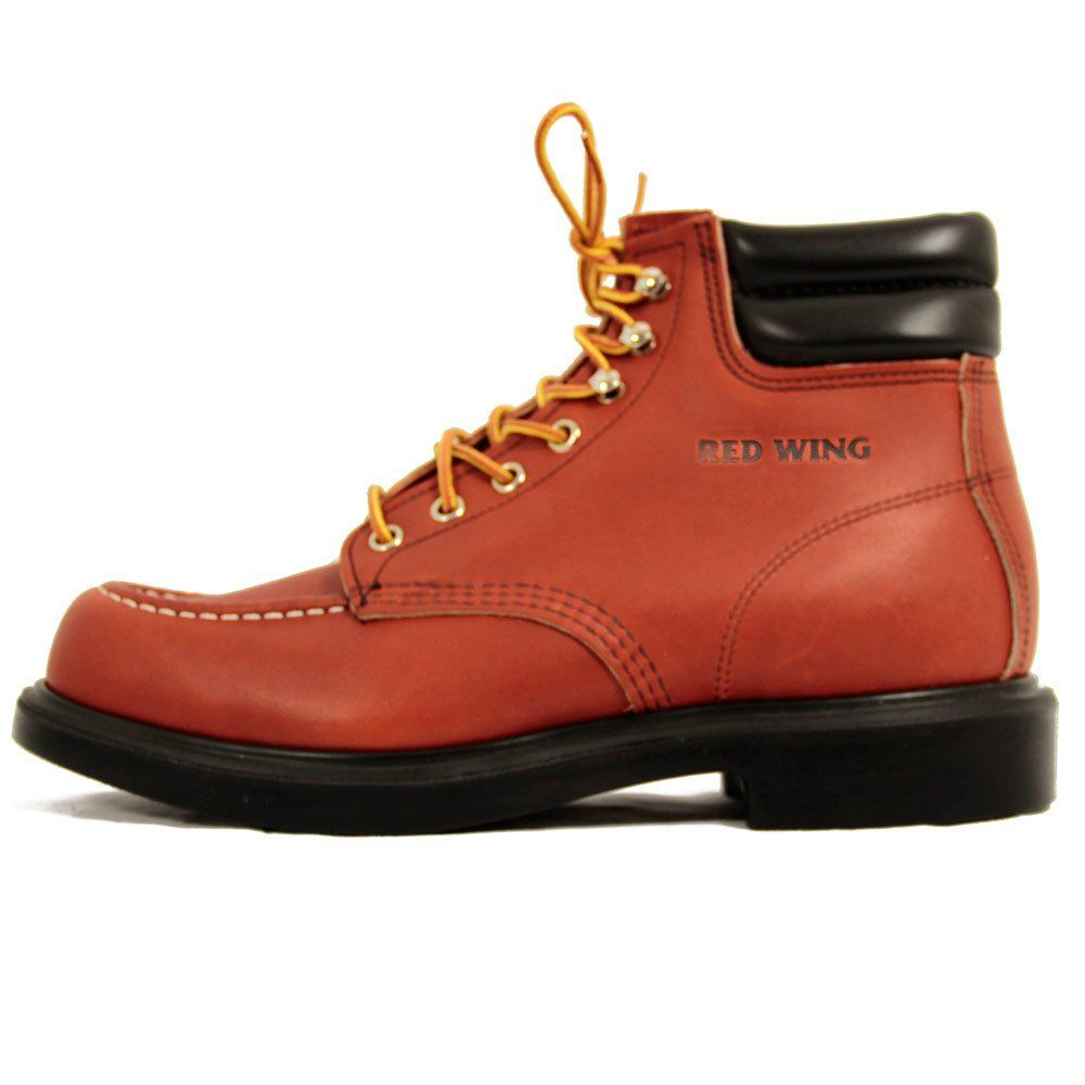 Red Wing Moc Toe Supersole Oro Russet Boot 08804
