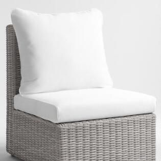 Custom Made Outdoor Sunbrella Replacement Cushions White Wicker Furniture Wicker Sofa Antique Wicker Chairs