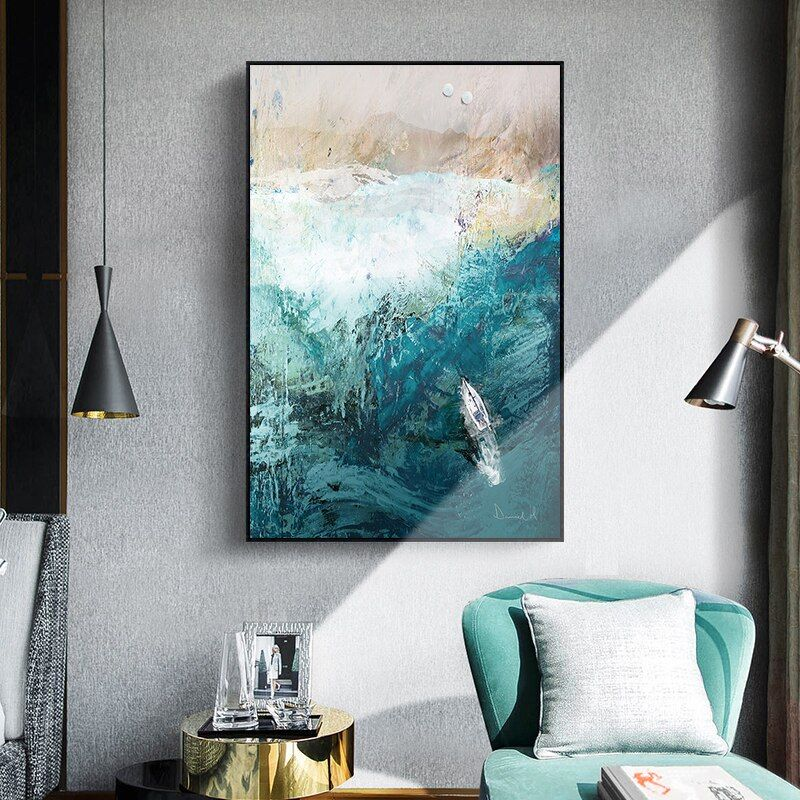 Modern Abstract Living Room Ink Canvas Painting Bedroom Wall Art Room Nordic Saloon Poster Home Decor Decoration Picture Mural Living Room Art Prints Living Room Canvas Prints Living Room Art
