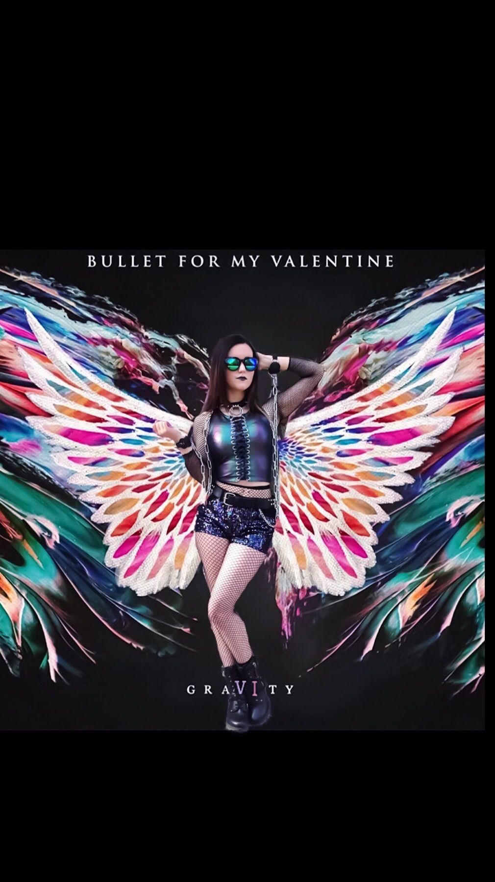 Bfmv Bulletformyvalentine Metalband Band Albumcover Metalcore Bandlove Gravity Wings Coverart Ed Heavy Metal Music Cover Art Bullet For My Valentine